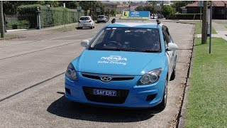 NRMA Safer Driving Learn to Drive - James Ep 9: P1 Driving Test