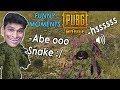 Kitne Sare *SNAKES* Hai PUBG MOBILE Me | PUBG MOBILE | (Funny Moments)