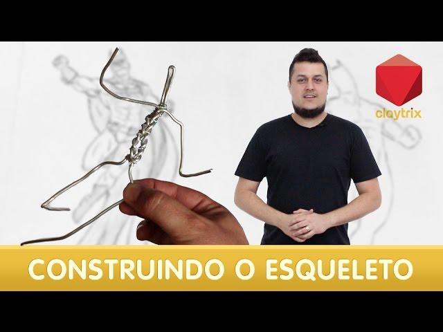 Aprenda a fazer o esqueleto da sua escultura | Claytrix