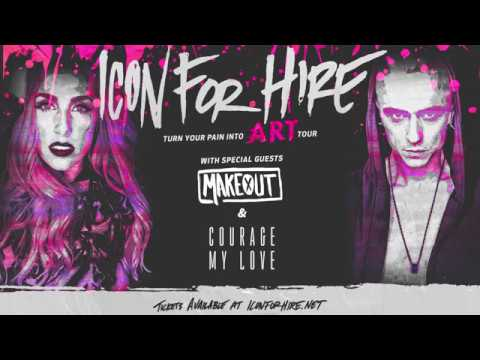 Icon For Hire - The Turn Your Pain Into Art Tour - DALLAS