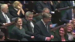 Minister rolnictwa Krzysztof Jurgiel zasnął podczas nocnych obrad Sejmu