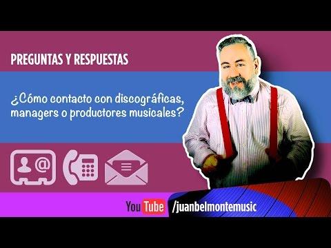Q&A: Como contactar con discográficas, managers y productores musicales