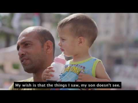 Palestinian Men In The West Bank