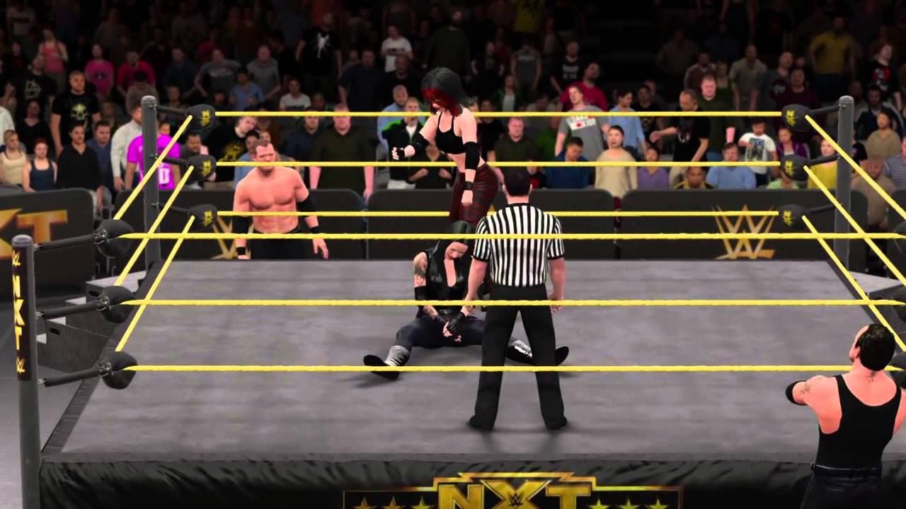WWE 2K16 CAW Match: Ka...