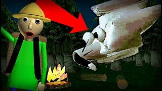 NEW CHARACTER FOUND IN BALDI'S BASICS!! {NEW UPDATE} Education And Learning Camping Trip