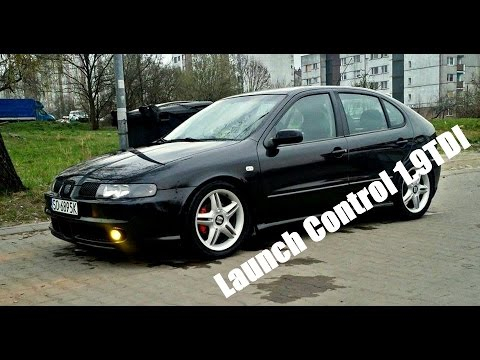 launch control 1 9tdi seat leon top sport arl youtube. Black Bedroom Furniture Sets. Home Design Ideas