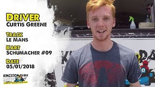 Driver Profile - Curtis Greene  |  Kingston Park Raceway Go Karting Brisbane Gold Coast