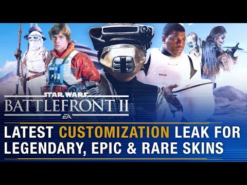 Season 2 Date + Customization Leak of Assorted Legendary, Epic and Rare Skins | Battlefront Update