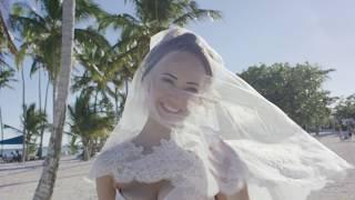 Свадьба в отеле barcelo bavaro palace. фотограф в Доминикане.