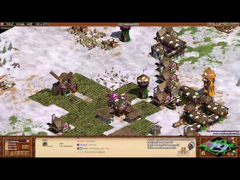 Aoe2: Expert Military Strategy (Rushing, Raiding, & Defending)