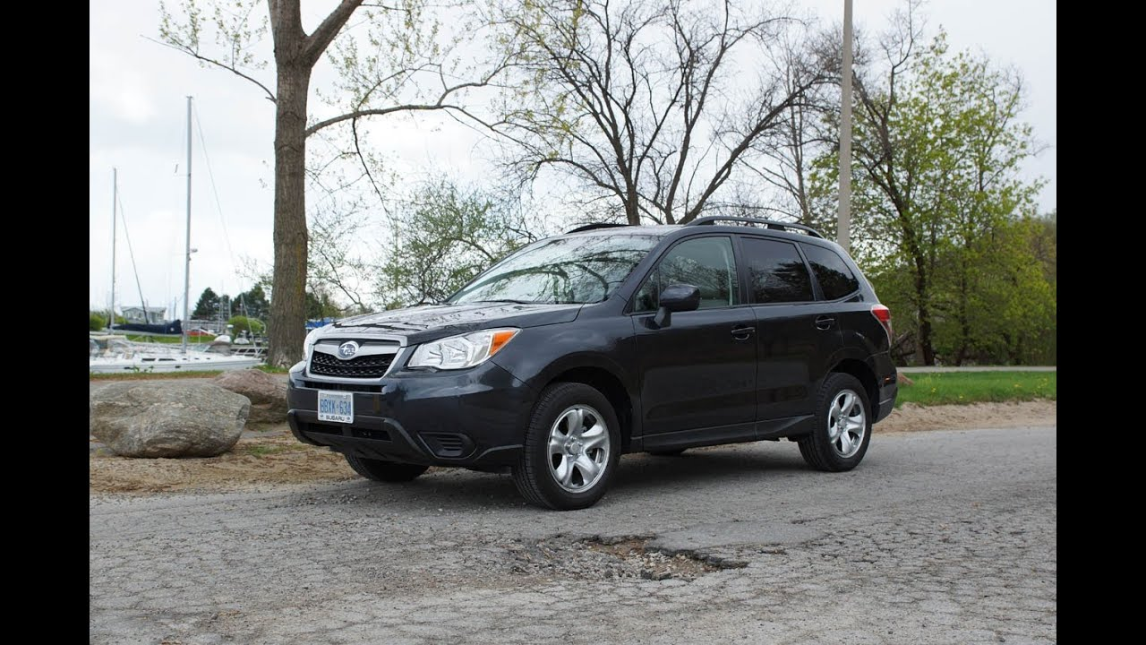 2014 subaru forester 2.5i review - youtube