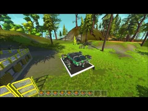 Scrap Mechanic, perfect vessel in action  - CoMaT I -