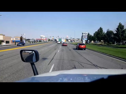 BigRigTravels LIVE! - Union Gap to Pasco, Washington - Interstate 82 -  Sept. 2, 2017