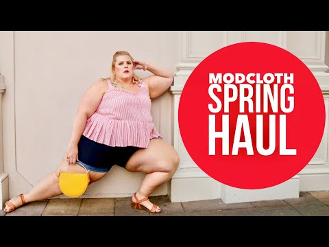 Modcloth April SIze Inclusive Haul