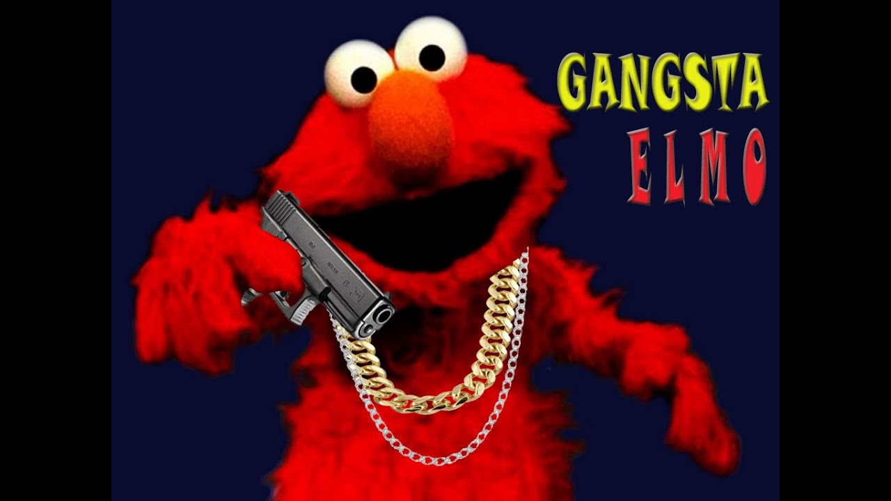Gangsta Elmo - YouTube