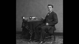 Thomas Edison and the phonograph - 1877