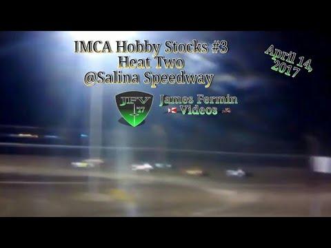 IMCA Hobby Stock #2, Heat, Salina Speedway, 2017