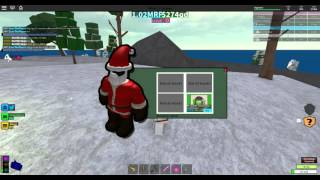 [ROBLOX: Miner's Haven] - Santa Is Selling Stuff! (Winter Update) Review