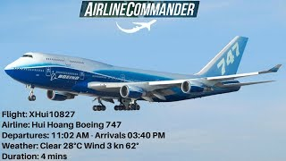Airline Commander - Buenos Aires - Brasilia Full Landing Boeing 747