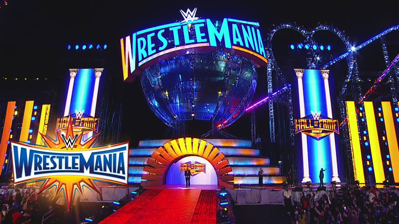 Download WWE of Fame Class of 2017 Inductees are honored at WrestleMania 33