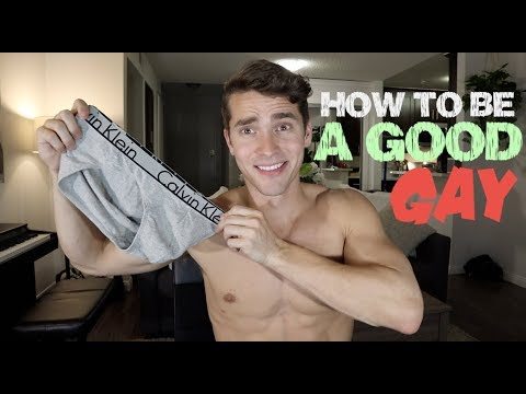 How To Be A Good Gay Guy Youtube