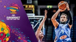 Georgia v Italy - Highlights - FIBA EuroBasket 2017