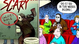 """50+ """"Friday the 13th - Jason"""" Hilariously Funny Comics To Make You Laugh."""
