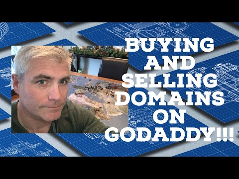 BUYING AND SELLING DOMAINS ON GODADDY 2019 | UNDER THE DOMAIN