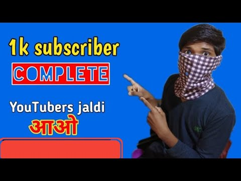 My 1k Subscriber Is Completed Now /now It Will Applying For Monitization