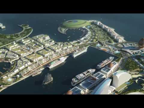 The FALCON of DOHA - The Cruise Ship Port QATAR deserves. VIDEO Sep.16 ®