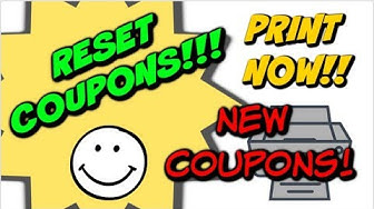 NEW JUNE PRINTABLE COUPONS & RESETS | PRINT FOR THIS WEEKS DEALS!