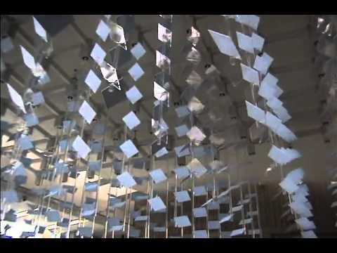 David Rokeby Amp Michael Awad Cloud Kinetic Sculpture