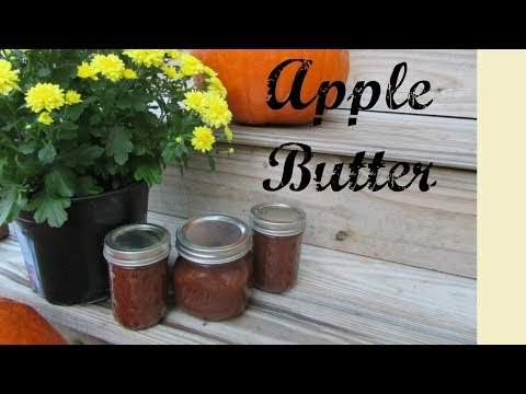 Crockpot Apple Butter + Canning | EASY!