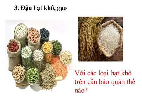 Công nghệ 6 HKII : Bai 17:Bảo quản chất dinh dưỡng trong chế biến món ăn