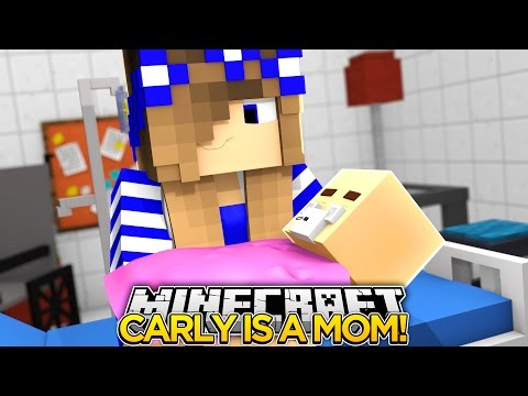 Minecraft-LITTLE CARLY IS HAVING A BABY GIRL!!