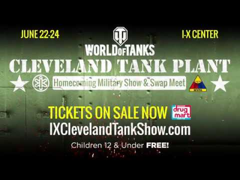 World of Tanks Cleveland Tank Plant Homecoming Military Show & Swap Meet