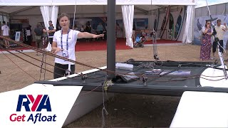 Introduction to the Catamaran Dinghy - Get Afloat with the RYA