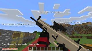 Minecraft silah modu 1.12.2