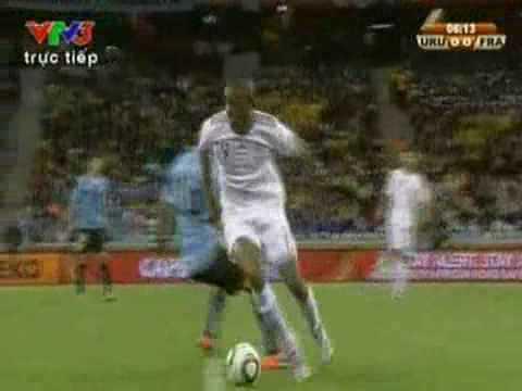 Pháp - Uruguay 0:0 world cup 2010