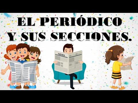 El periódico y sus secciones /3° ESPAÑOL/ Aprende desde casa.