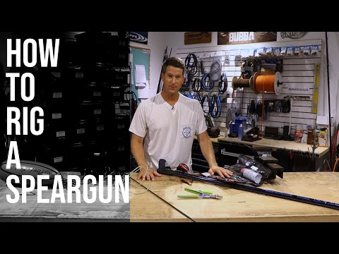 How To Rig A Speargun Shooting Line To Reel And Floatline | Spearfishing Tutorial
