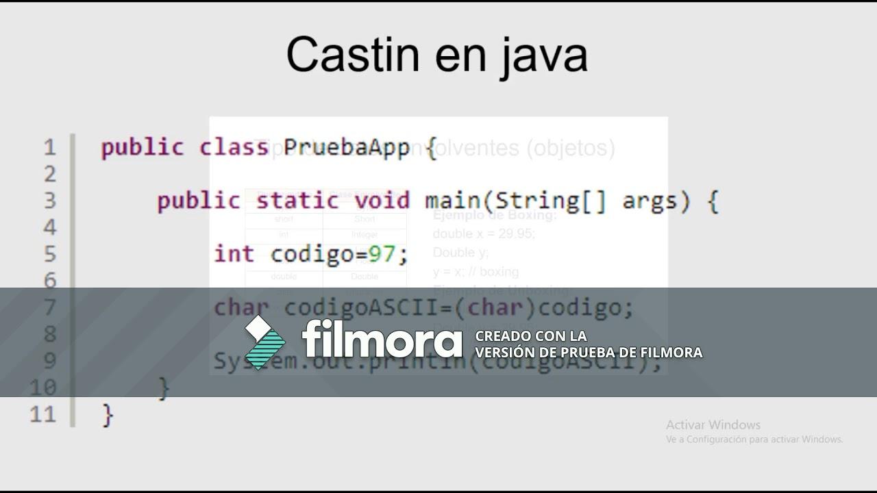 Estructura De Java