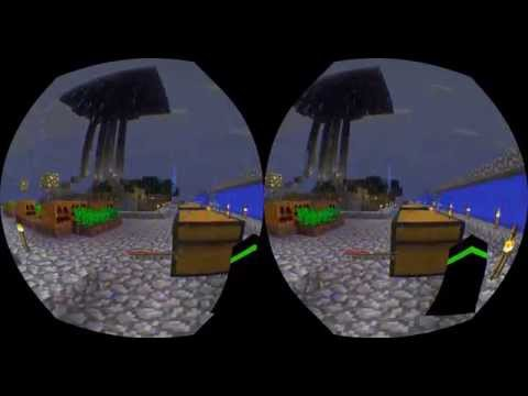 Virtual Reality Minecraft
