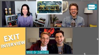 THE AMAZING RACE EXIT INTERVIEW - WILL & JAMES, THE WINNERS TAR32⎰Nerdtainment