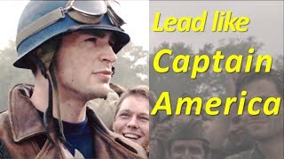 How to lead like Captain America