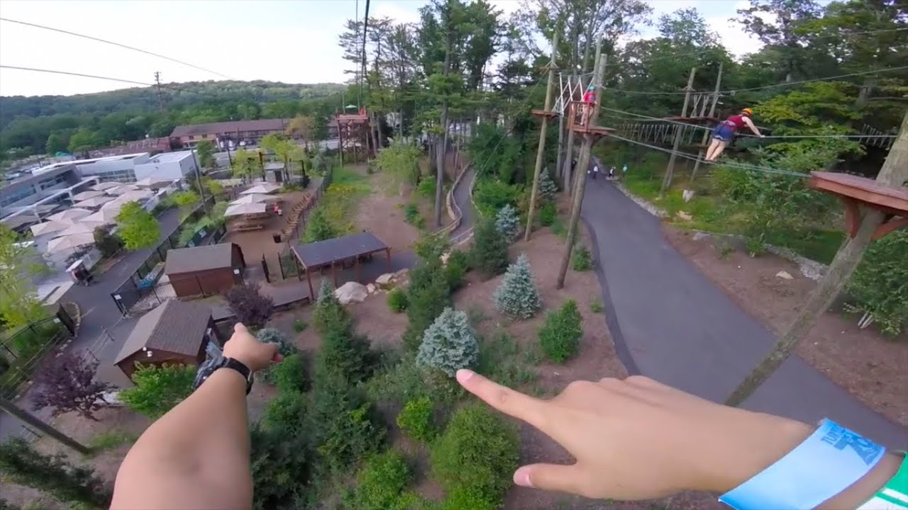 ZIP-LINE AT TURTLE BACK! - YouTube