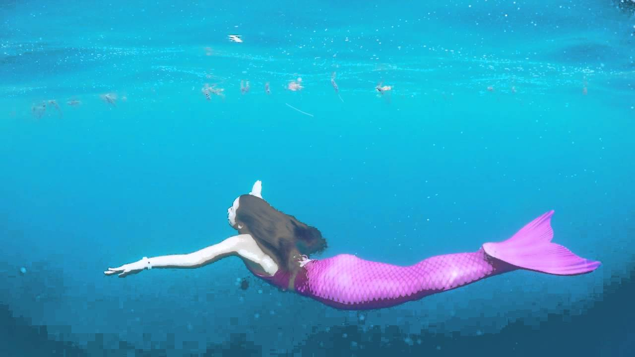 Swimmable Mermaid Tails - Swimming mermaids in tails by THE2TAILS