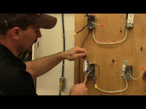 hook up electrical outlets series