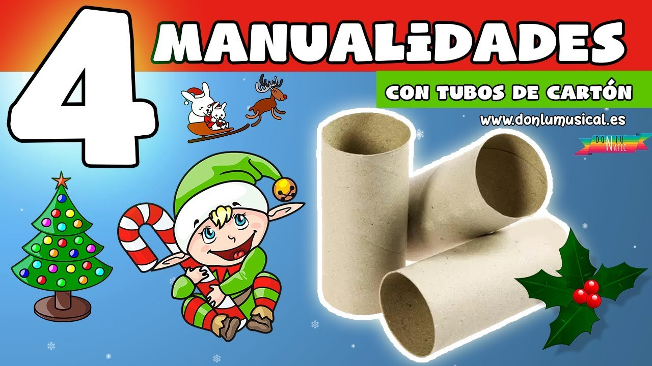 Videos Youtube Manualidades Navidenas.English