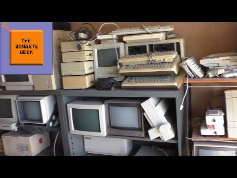Computer Hunting Ep6: Apple Picking - Obsolete Geek